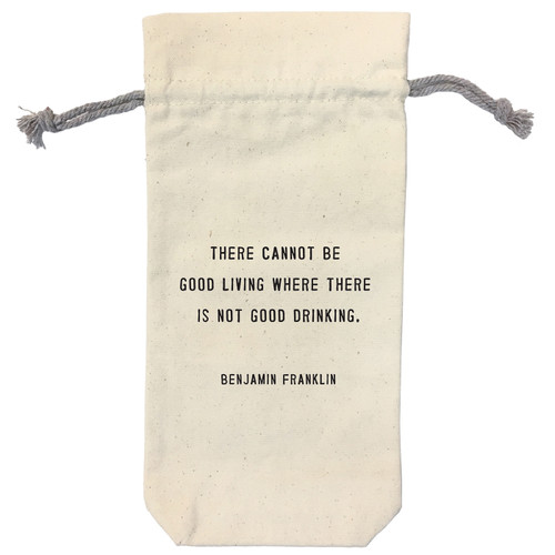 There Cannot Be Wine Bag by Sugarboo Designs