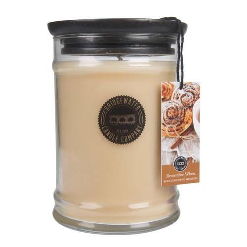 Remember When Large Jar Candle - Bridgewater