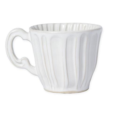Vietri Incanto Stone White Stripe Mug - Special Order