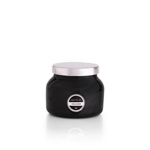 No. 6 Volcano 8 oz. Black Petite Signature Jar Candle by Capri Blue