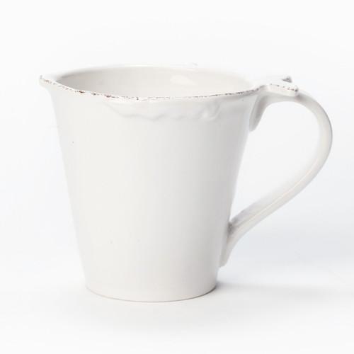 Vietri Lastra Fish White Mug - Special Order