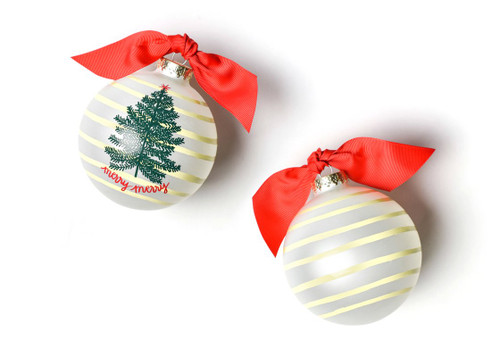 Merry Tree Glass Ornament by Happy Everything!
