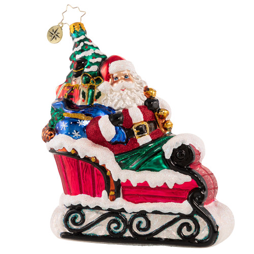 Countryside Sleigh Ride Ornament by Christopher Radko