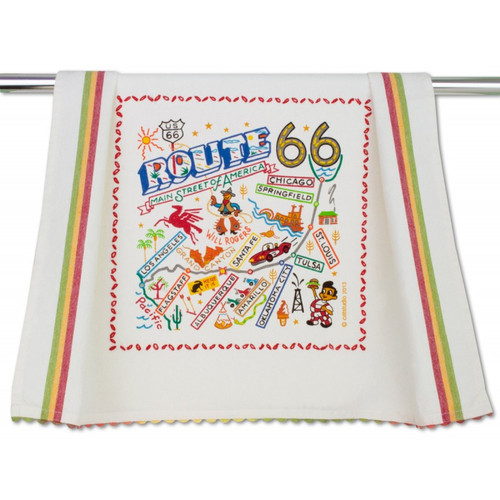 Route 66 Dish Towel by Catstudio 1