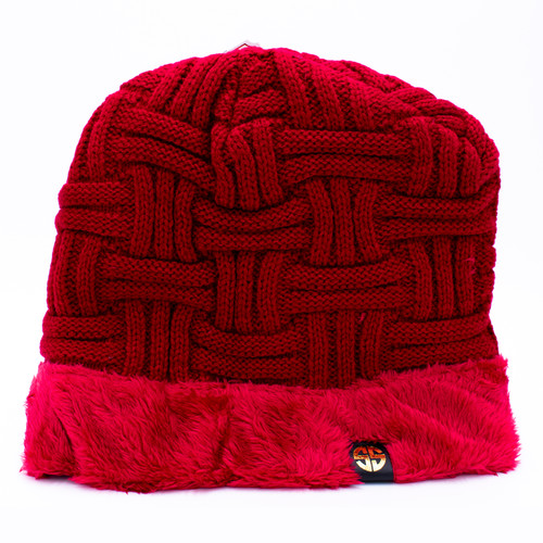 Scarlet Sherpa Beanie by Simply Southern