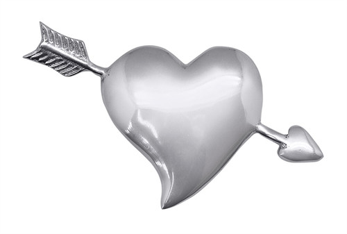 Heart and Arrow Napkin Weight by Mariposa