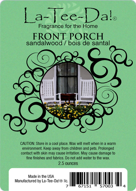 Front Porch Magic Melt by La Tee Da
