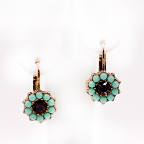Poinsettia St. Lucia Earrings by Mariana Jewelry