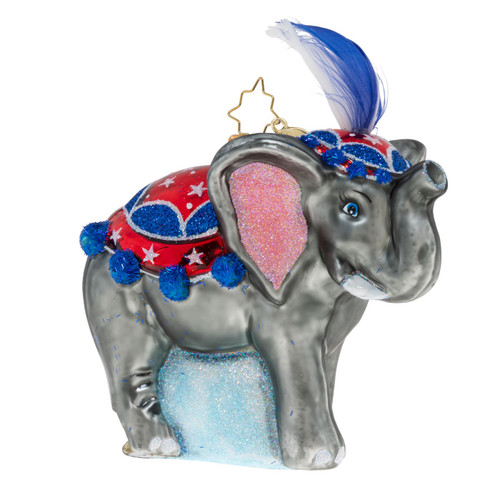 Welcome To The Trunk Show Ornament by Christopher Radko