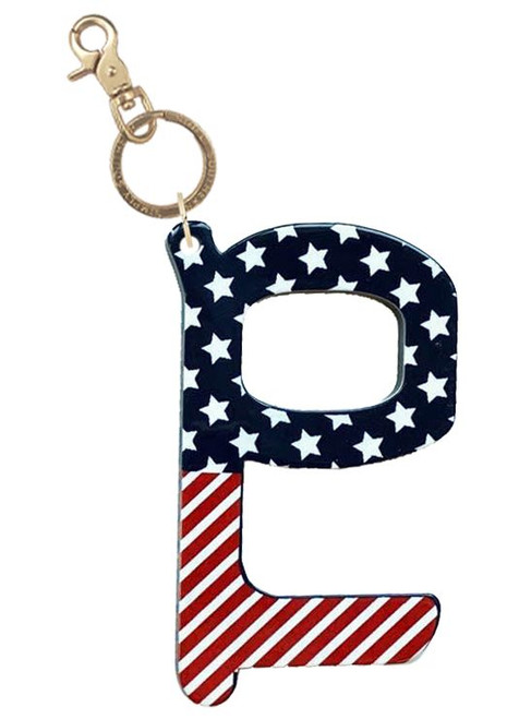 USA Handsfree Keychain by Simply Southern