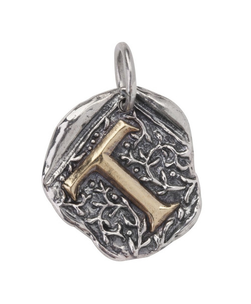 """Letter """"T"""" Century Insignia Charm by Waxing Poetic"""
