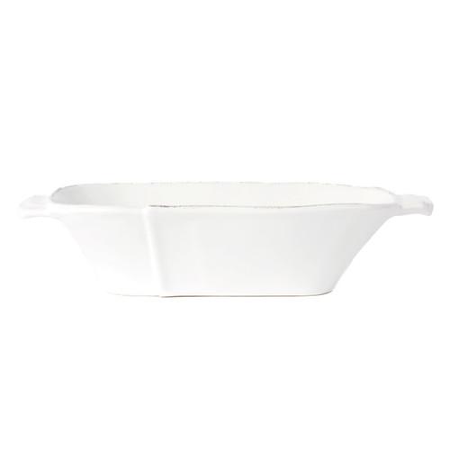Vietri Lastra White Medium Au Gratin - Special Order
