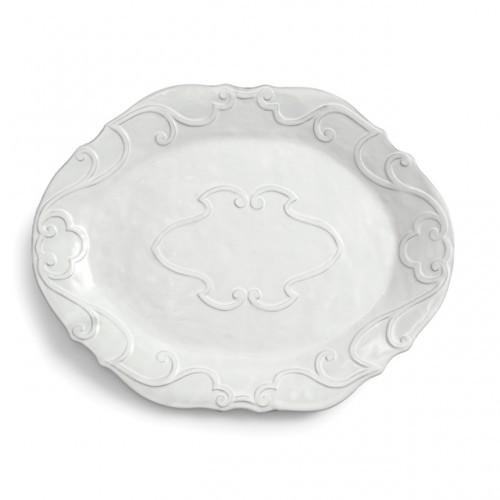 Bella Bianca Large Oval Platter - Arte Italica