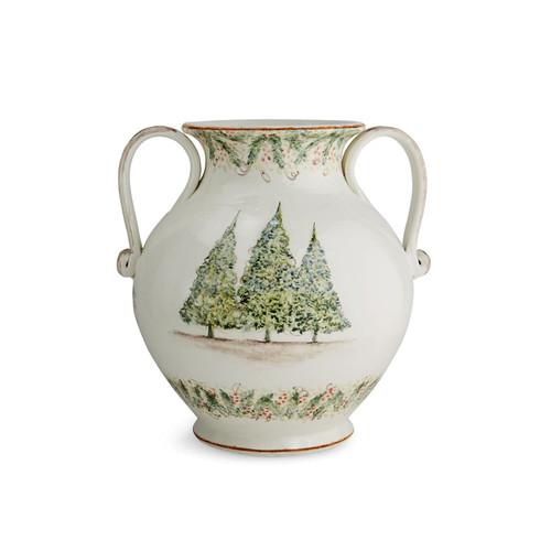 Natale Round 2-handled Amphora - Arte Italica
