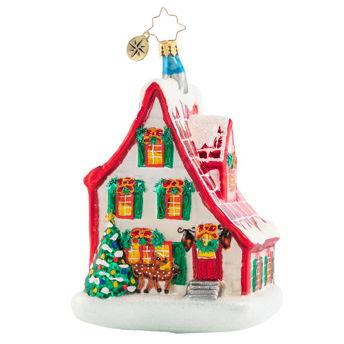 Holiday Hideaway Ornament by Christopher Radko -