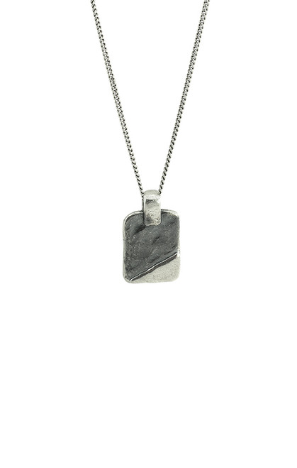 """Cornet Tag Necklace - 24"""" by Waxing Poetic"""