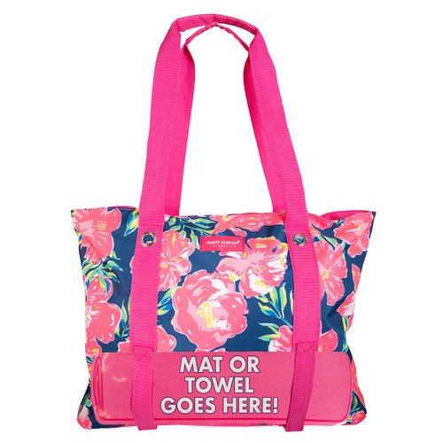 Hibiscus Beach Bag by Simply Southern