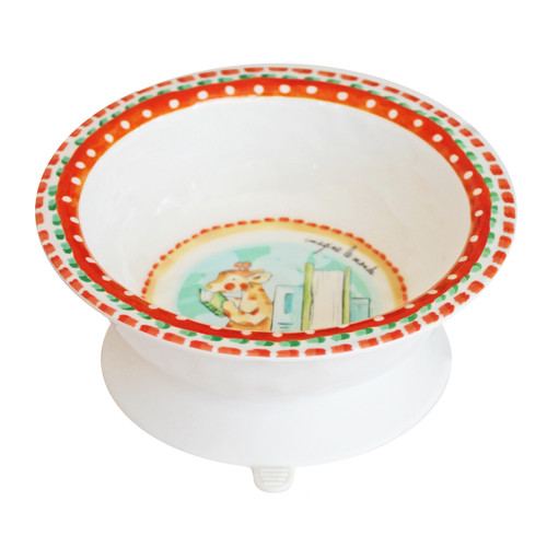 Imagine the World Suction Bowl by Baby Cie
