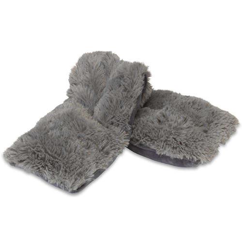 Warmies Heatable & Lavender Scented Gray Spa Plush Wrap