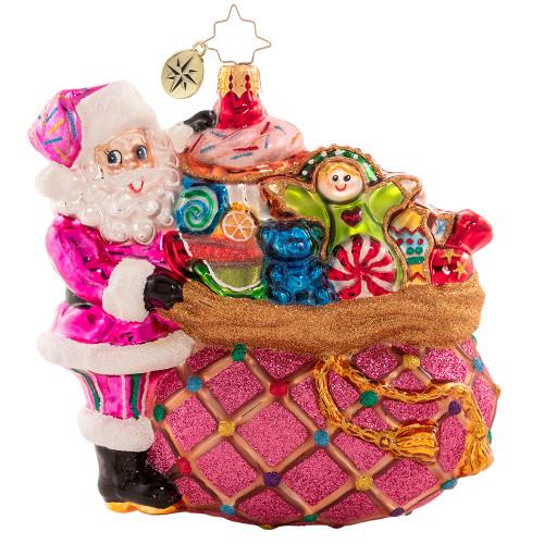 Sugary Shopping Spree Ornament by Christopher Radko -