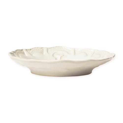 Vietri Incanto Stone Linen Lace Pasta Bowl