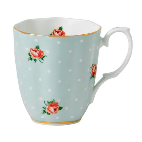 Polka Rose Vintage Mug by Royal Albert