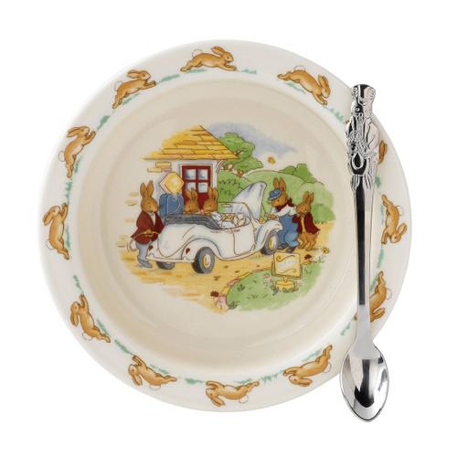 Bunnykins 2-Piece Bowl & Spoon Set by Royal Doulton - Special Order