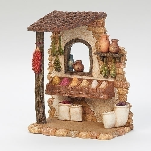 """6.5"""" Spice Shop for 5"""" Scale Figurines - Fontanini - Special Order"""