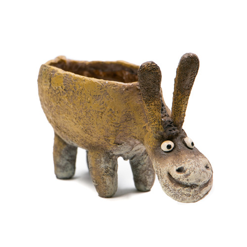 Georgetown Festus, the Standing Donkey Planter
