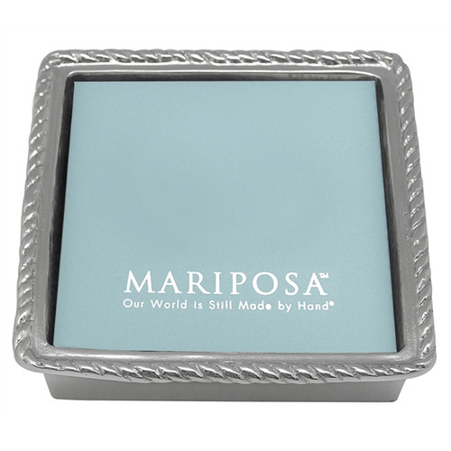 Rope Napkin Box with Insert by Mariposa - Special Order