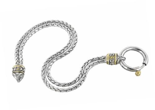 """6 3/4"""" Spring Ring Celebration Bracelet by John Medeiros"""