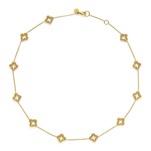 Julie Vos Florentine Delicate Necklace - Gold