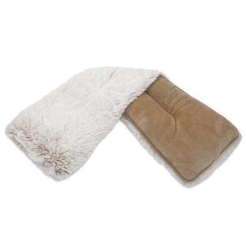 Warmies Heatable & Lavender Scented Brown Marshmallow Spa Plush Wrap