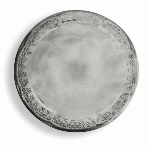 Vintage Pewter Cake Plate - Arte Italica