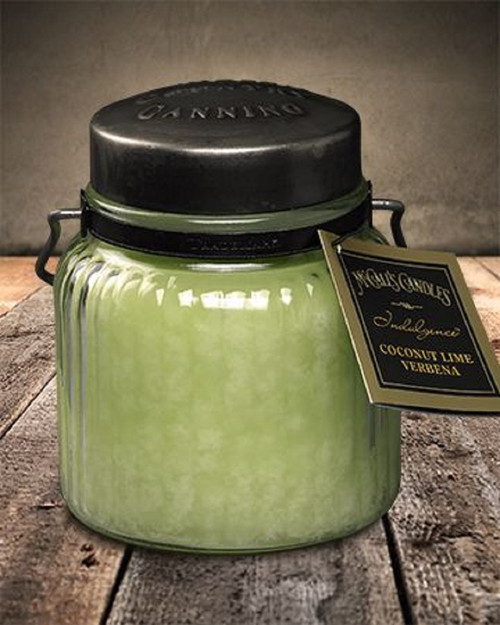 Coconut Lime Verbena 18 oz. McCall's Indulgence Jar Candle