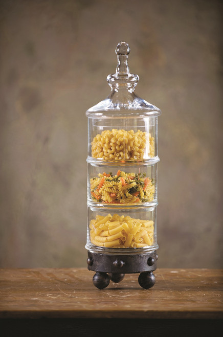 Amalfi 3-Tier Canister by Bella Toscana