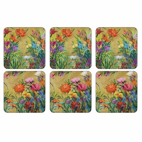 Set of 6 Martha's Choice Coasters by Pimpernel - Special Order