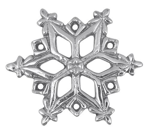 Open Snowflake Napkin Weight by Mariposa