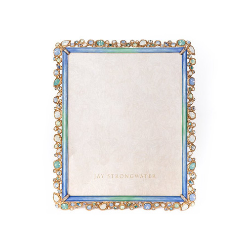 """Jay Strongwater Theo Bejeweled 8"""" x 10"""" Frame - Special Order 1"""