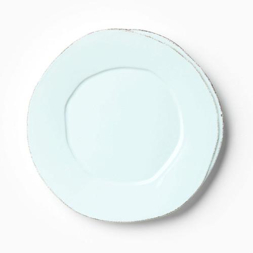Vietri Lastra Aqua European Dinner Plate - Special Order