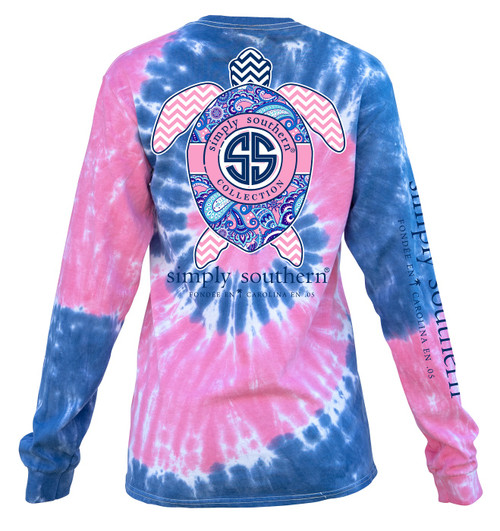 Small Turtle Logo Taffy Long Sleeve Tee by Simply Southern