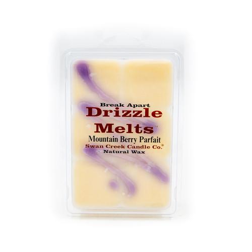 Mountain Berry Parfait 5.25 oz. Swan Creek Candle Drizzle Melts