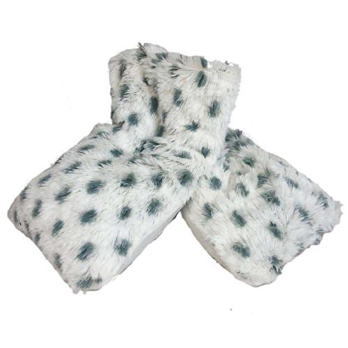 Warmies Heatable & Lavender Scented Snowy Spa Plush Wrap