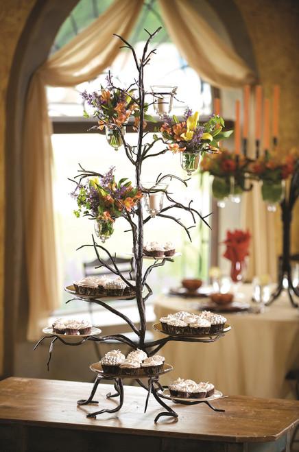 Twig 6-Plate Cupcake Server by Bella Toscana