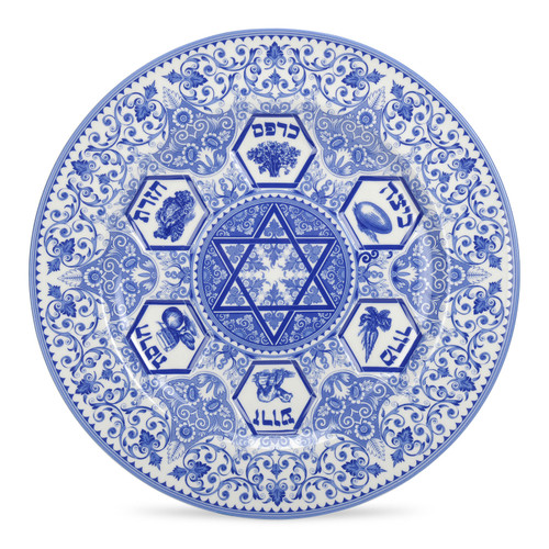 Judaica Seder Plate by Spode - Special Order