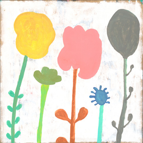 """12"""" x 12"""" Your Mind Is A Garden (Top Panel) Small Print by Sugarboo Designs - Special Order"""