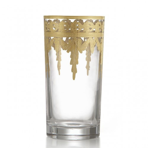 Vetro Gold Highball Glass - Arte Italica