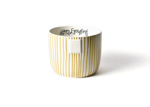 Gold Stripe Mini Bowl by Happy Everything!