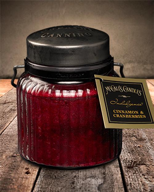 Cinnamon & Cranberries 18 oz. McCall's Indulgence Jar Candle
