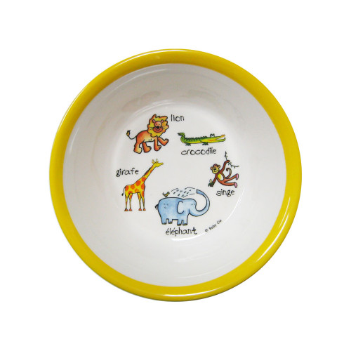 Jungle Animals Suction Bowl by Baby Cie